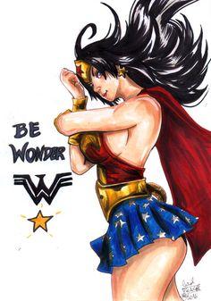 Be Wonder by PeaceMakerSama.deviantart.com on @DeviantArt