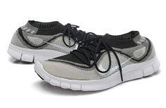 Mens Free Flyknit+ Grey Tinker Hatfield, Free Running Shoes, Nike Basketball, Nike Free, Footwear, Grey, Sneakers, Gray, Tennis