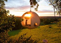 Rufus Martin from The Hanging Tent Company has recently designed a suspended tent that is ideal for camping. It is more of a glamping material: glamorous camping material, which is in the shape of a …