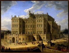 Giovanni Paolo Pannini Veduta del Castello di Rivoli 1723.jpg (500×387)