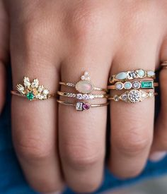 Opal Crown Equilibrium Ring - Audry Rose