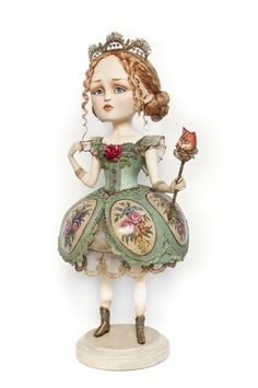 Art doll Sophie, based on french rococo theme By Kira Shaimanova