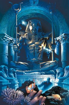 Namor The Sub-Mariner's throne room