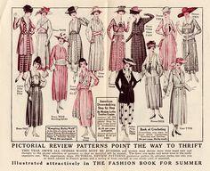 1918 fashions