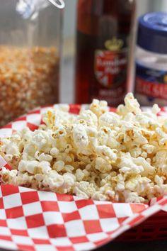 Sea Salt & Vinegar Popcorn~I cant wait to try this, I love salt and vinegar!