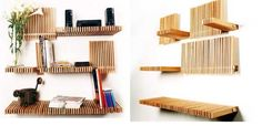 lenga1 Folding Bookshelves