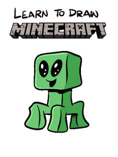 Learn how to draw Minecraft, PLUS some fun ideas how to incorporate Minecraft art into your classroom. Zombie Drawings, Halloween Drawings, Easy Drawings, Halloween Fun, Minecraft Drawings, Minecraft Art, How To Make Drawing, Fb Page, Drawing Lessons