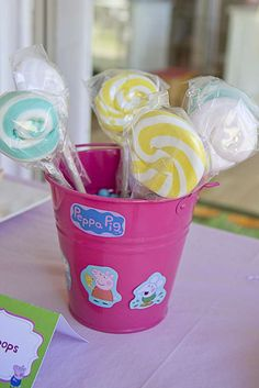 Peppa Pig Birthday Party Ideas | Photo 3 of 18 | Catch My Party