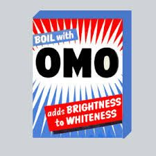 Omo washing powder of the