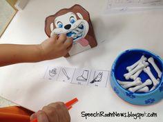 Speech Room News: Apraxia Bones...I have that dog bone set...great new way to use it!!!