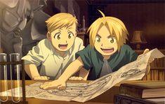 Tags: Fullmetal Alchemist, Edward Elric, Alphonse Elric, Fullmetal Alchemist Brotherhood, Official Art, Elric Brothers