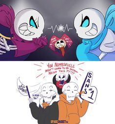 Undertale :: Underswap:: Swapfell:: Blue vs Black by SpaceJacket Who do you think would win? Blueberry or BlackBerry?