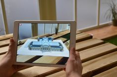 5 Reasons to Use Augmented Reality Ar Reality, Vr Room, Augmented Virtual Reality, Floor Graphics, Famous Monuments, Ui Elements, Student Engagement, Customer Experience, Experiential