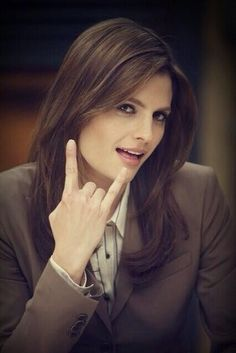 Stana behind the scenes!                                                                                                                                                      More
