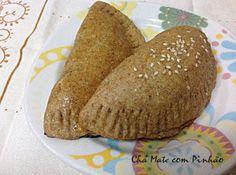 Pastel assado - integral - sem lactose #semlactose #receitas #pastelassado #cozinhasemlactose