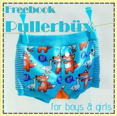 Unterhose nähen, Boxershorts nähen, Freebook, Pullerbüx