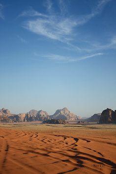 Wadi Rum Desert, Jordan by Marcos Gonzalez