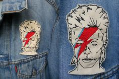 Bowie embroidery - Kate Blandford - cross stitch and stuff