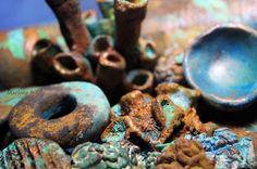 Marlene Brady: Rusted Treasures (of polymer clay)