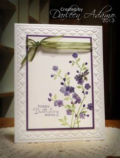FS312~CASing Bonnie!! by darleenstamps - Cards and Paper Crafts at Splitcoaststampers