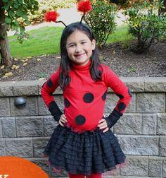 DIY easy no sew ladybug  costume // Katica jelmez varrás nélkül egyszerűen // Mindy - craft tutorial collection // #crafts #DIY #craftTutorial #tutorial #DIYClothesForKids
