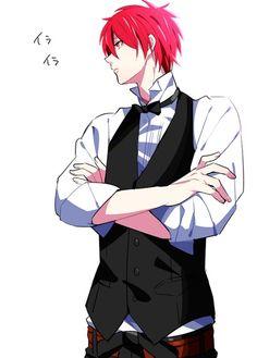 Kiseki no sedai x Reader (kuroko no basuke) open requests! - Akashi X reader Kuroko No Basket, Manga Boy, Manga Anime, Anime Art, Bartender Anime, Red Hair Men, Kiseki No Sedai, Akashi Seijuro, Akakuro