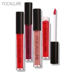 FOCALLURE Waterproof Matte Finish Lip Gloss #matte #lipstick # Gloss #affordable #quality