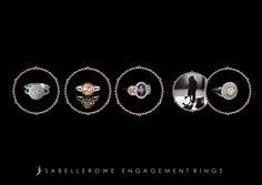 Isabelle Rowe - Engagement Postcard Diamond Earrings, Engagement Rings, Jewelry, Enagement Rings, Wedding Rings, Jewlery, Jewerly, Schmuck, Jewels