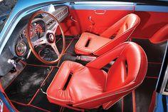 1958 Alfa Romeo Giulietta Veloce Zagato For Sale Interior