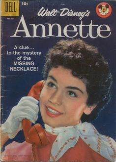Annette Funicello Disney Mickey Mouse Club Cheerleader Joined Bear, Annette Funicello