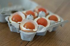 finte uova alla robiola