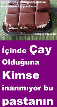 Pasta Cake, Turkish Recipes, Beautiful Cakes, Hot Dog Buns, Chocolate Cake, Yogurt, Cake Recipes, Deserts, Muffin