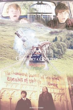 Harry Potter and the Chamber of Secrets - alternate movie posters