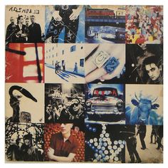 I couldn't stop listening to 'achtung baby' & 'Joshua Tree' when I was young