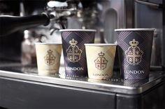 Coffee House London - Visual Identity by Reynolds and Reyner