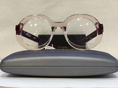 Handmade in France. Funky Glasses, Glasses Frames, Eyewear Trends, Women's Eyewear, Face Jewellery, Cute Frames, Fashion Eye Glasses, Four Eyes, Optical Glasses
