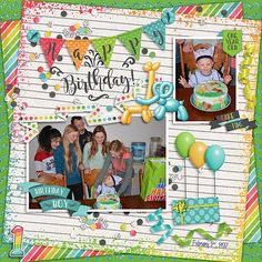 Scrapbooks are not meant just for photos. When I was in elementary school, I had a scrapbook. Paper Bag Scrapbook, Baby Scrapbook, Scrapbook Supplies, Scrapbook Albums, Scrapbook Cards, Scrapbooking Ideas, Digital Scrapbooking, Birthday Scrapbook Layouts, Scrapbook Designs