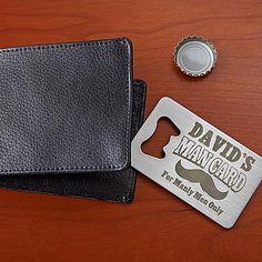 Man Card Wallet Bottle Opener