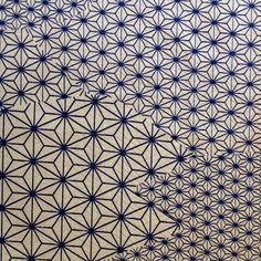 Japan Made - Asanoha Pattern Silk, $10.00 (http://www.japanmade.com.au/asanoha-pattern-silk/)