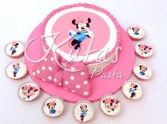 Minnie Mouse ve Cupcake