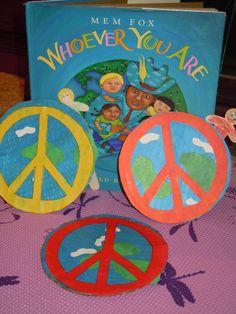 Peaceful Planets created by Peaceful Planet Yogis and inspired by the amazing book, Whoever You Are by Mem Fox Kindergarten Activities, Book Activities, Learning Through Play, Kids Learning, Mem Fox Books, Early Childhood Australia, Harmony Day, Planet For Kids, Fox Crafts