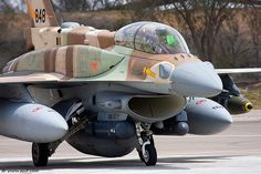 F-16I - conformal tanks for that long haul to Tehran.