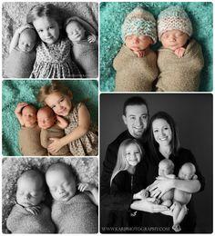 Newborn twins photography MN
