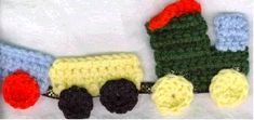 Train Engine for a green hat.