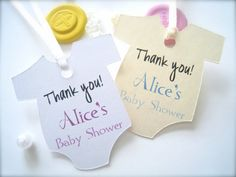 Favor tags for baby shower baby shower favor by PaperLovePrints, $11.00