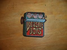 Vintage Beastie Boys Patch 1998 C&D Visionary Inc. *NEW*