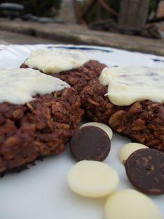 Dupla csokis zabkeksz – vegán