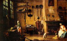 086amolenuvolette-it1701-1800-jean-baptiste-lallemand-la-cuisine-bourgeoise.jpg (5454×3366)
