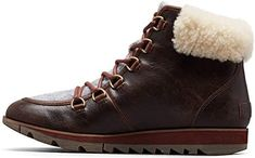 Shop a great selection of Sorel - Women's Harlow Lace Cozy Winter Boot Shearling Collar, Ash Brown. Find new offer and Similar products for Sorel - Women's Harlow Lace Cozy Winter Boot Shearling Collar, Ash Brown. Warm Winter Boots, Cozy Winter, Plastic Boots, Fleet Feet, Doc Martens Boots, Lace Up Booties, Duck Boots, Western Boots, Riding Boots