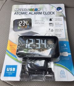 La Crosse Technology Multi-color Atomic Alarm Clock New #LaCrosseTechnology